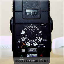 manual de flash National PE-2057